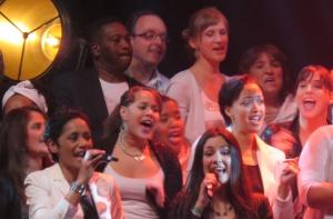 Sonja Silva in Wazzup Singers